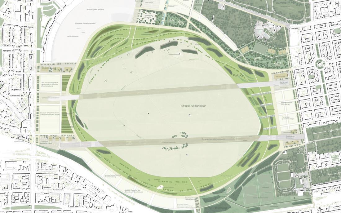 Wettbewerb: Parklandschaft Tempelhof