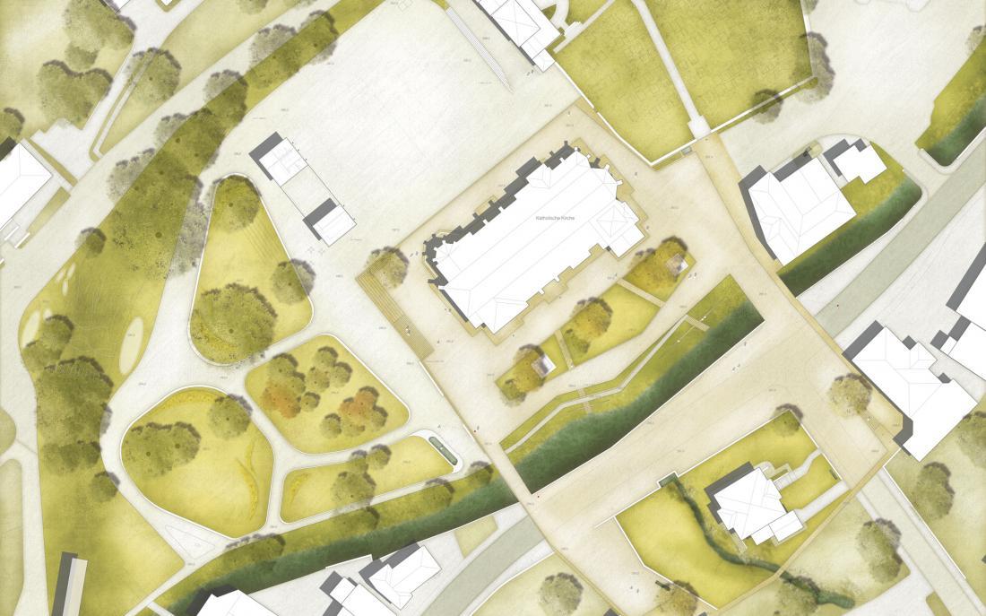 3. Preis: Neugestaltung Ortsmitte Nordrach
