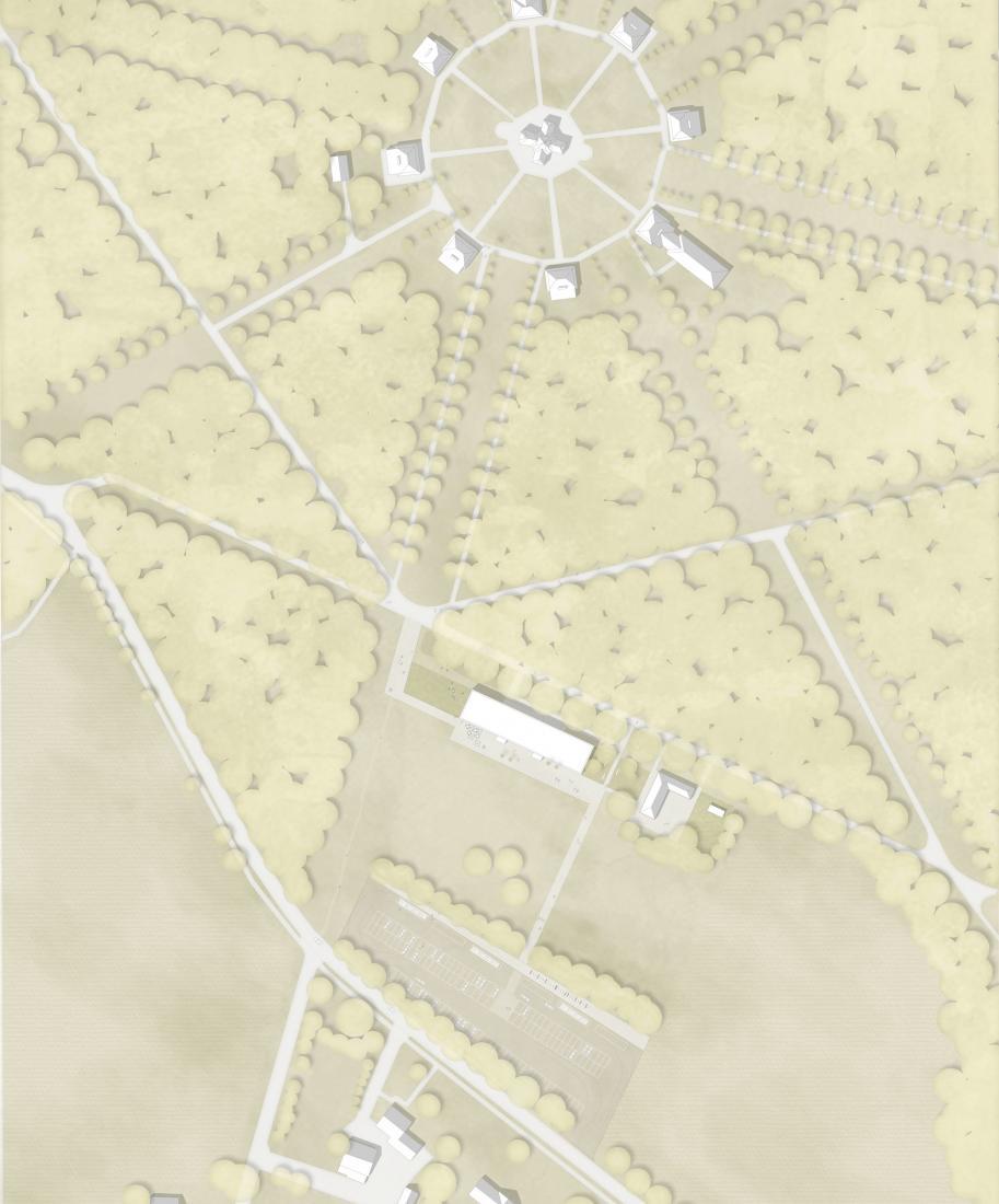 3. Preis: Neubau eines Besucherzentrums auf Schloss Clemenswerth in Sögel