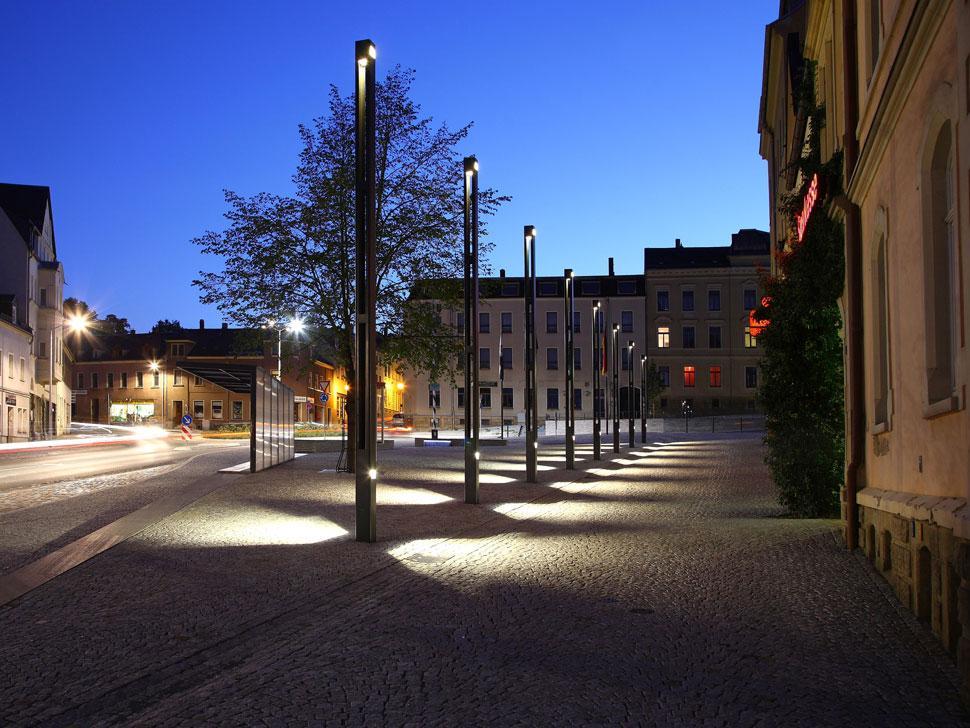 Netzschkau Market Square