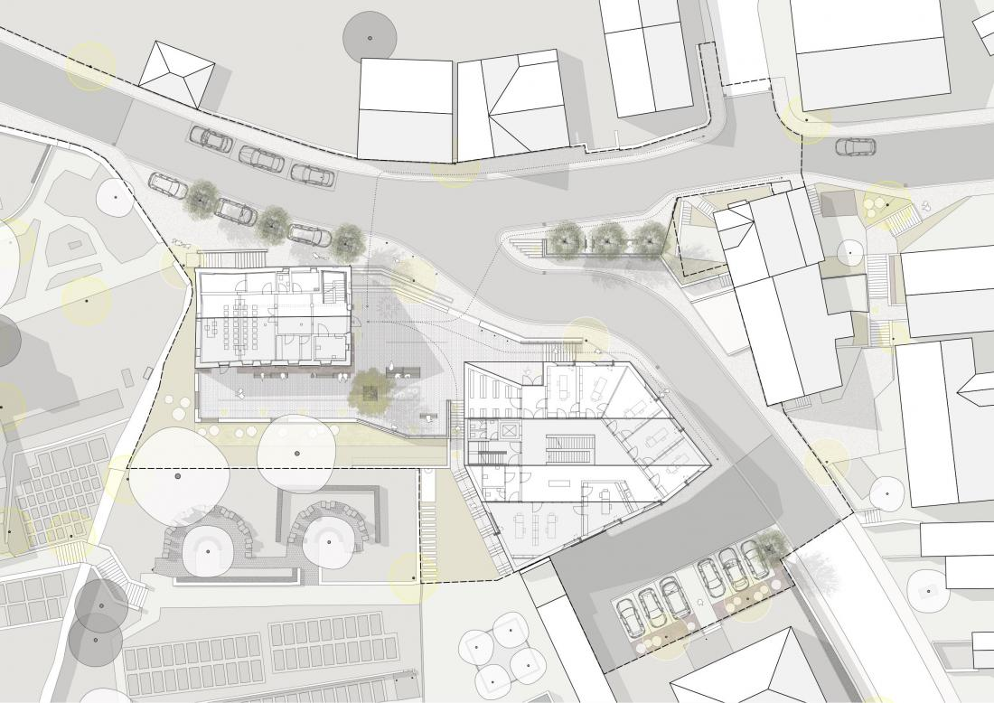 Freiraumplanung Rathaus
